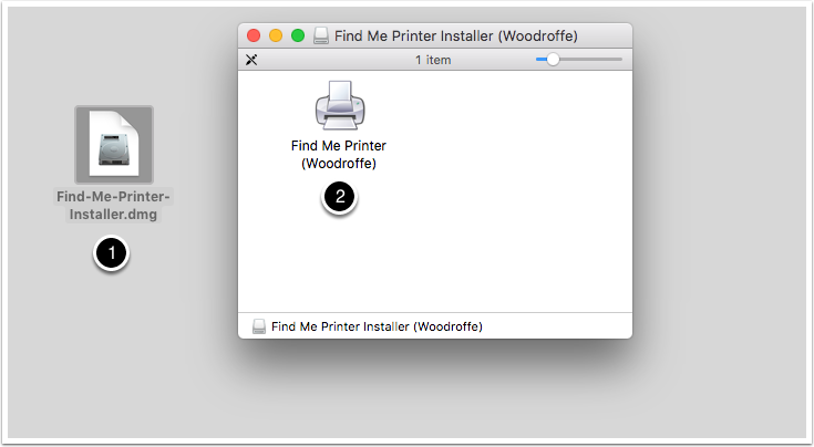 How to install a Find me Printer on your Mac : Algonquin